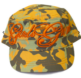 Bucket hat by Girls with Guns Clothing