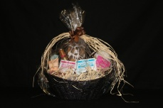 Beauty treatment basket by Sherri's salon.