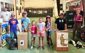 Youth Division - Four Corners SCI 3D Archery Shoot 2018