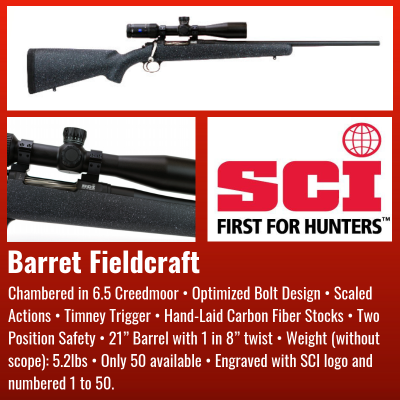Firearms Preview | Four Corners Chapter SCI Auction Items