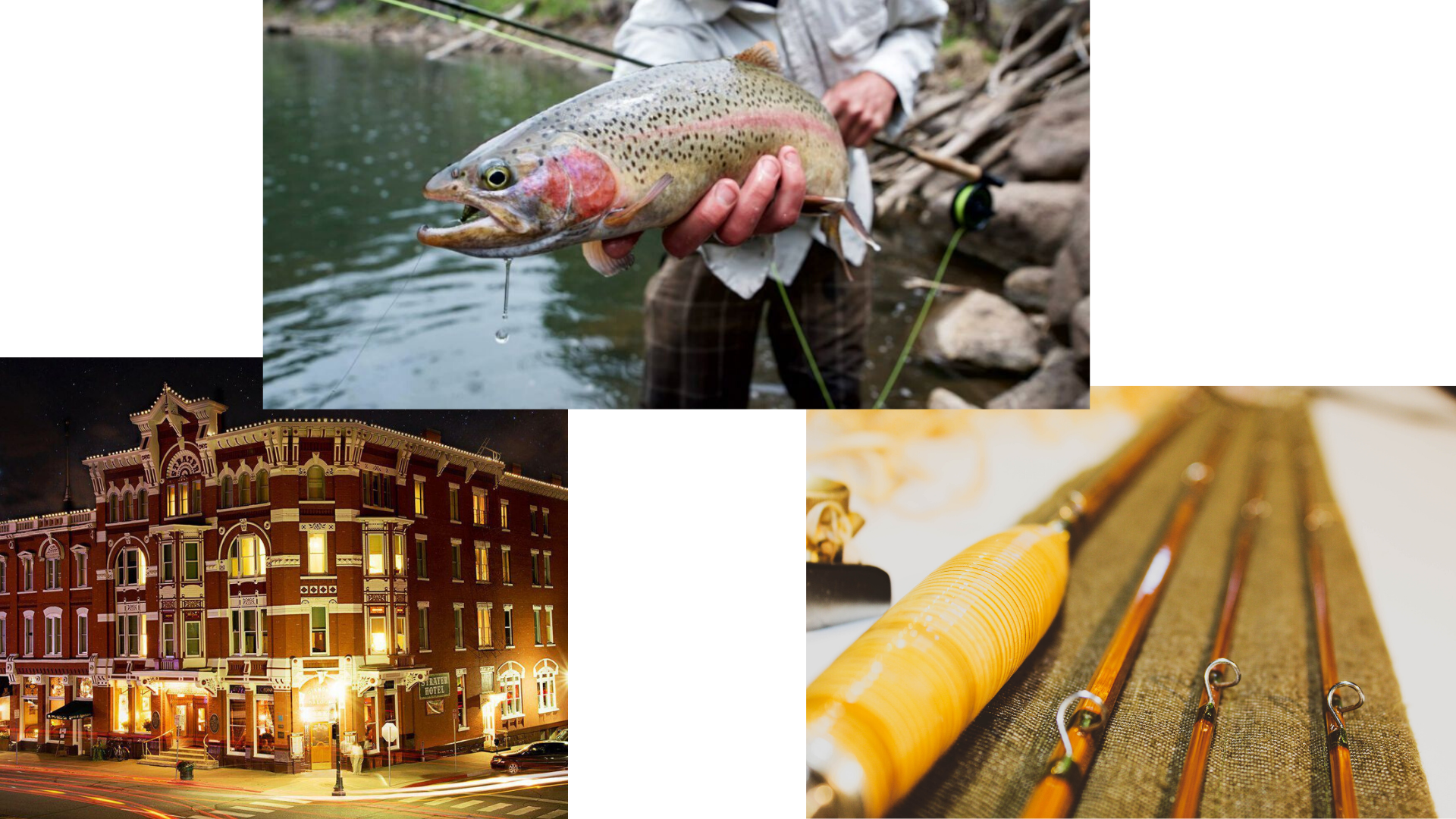 Bamboo Rod Fly Fishing Dining And Hotel Four Corners Chapter Sci