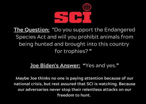 sci biden question and answer